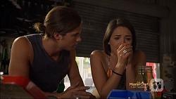Tyler Brennan, Paige Novak in Neighbours Episode 7115