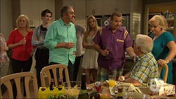 Lauren Turner, Bailey Turner, Karl Kennedy, Amber Turner, Toadie Rebecchi, Lou Carpenter, Sheila Canning in Neighbours Episode 7115