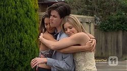 Paige Novak, Bailey Turner, Amber Turner in Neighbours Episode 7115