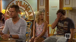 Mark Brennan, Georgia Brooks, Kyle Canning in Neighbours Episode 7116
