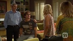 Karl Kennedy, Kyle Canning, Georgia Brooks, Sonya Rebecchi in Neighbours Episode 7116