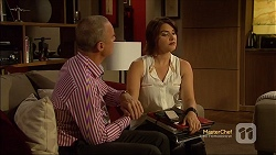 Paul Robinson, Naomi Canning in Neighbours Episode 7116