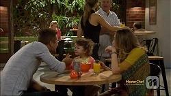 Mark Brennan, Nell Rebecchi, Sonya Rebecchi in Neighbours Episode 7116