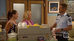 Paige Novak, Lauren Turner, Mark Brennan in Neighbours Episode 7117