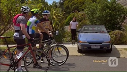 Karl Kennedy, Nate Kinski, Kyle Canning, Imogen Willis in Neighbours Episode 7117