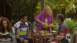 Nate Kinski, Lauren Turner, Karl Kennedy in Neighbours Episode 7117