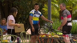 Imogen Willis, Nate Kinski, Karl Kennedy in Neighbours Episode 7117