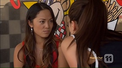 Michelle Kim, Paige Novak in Neighbours Episode 7117