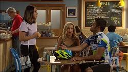 Imogen Willis, Georgia Brooks, Nate Kinski in Neighbours Episode 7118
