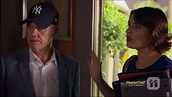 Paul Robinson, Naomi Canning in Neighbours Episode 7118
