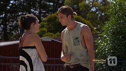 Paige Novak, Tyler Brennan in Neighbours Episode 7118