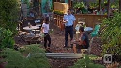 Imogen Willis, Mark Brennan, Nate Kinski in Neighbours Episode 7118