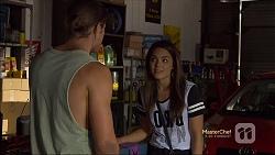 Tyler Brennan, Paige Novak in Neighbours Episode 7118