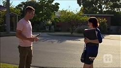 Mark Brennan, Naomi Canning in Neighbours Episode 7118