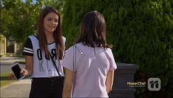 Paige Novak, Imogen Willis in Neighbours Episode 7118