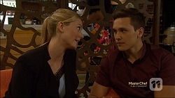 Danni Ferguson, Josh Willis in Neighbours Episode 7119