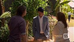 Brad Willis, Paul Robinson, Terese Willis in Neighbours Episode 7119
