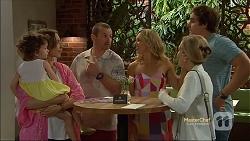 Nell Rebecchi, Sonya Mitchell, Toadie Rebecchi, Georgia Brooks, Rhonda Brooks, Kyle Canning in Neighbours Episode 7120