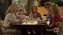 Rhonda Brooks, Toadie Rebecchi, Nell Rebecchi, Sonya Mitchell, Kyle Canning, Georgia Brooks in Neighbours Episode 7120