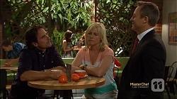 Brad Willis, Lauren Turner, Ezra Hanley in Neighbours Episode 7120