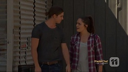 Tyler Brennan, Paige Novak in Neighbours Episode 7121