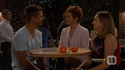Mark Brennan, Susan Kennedy, Sonya Mitchell in Neighbours Episode 7121
