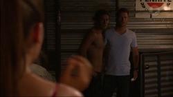 Paige Novak, Tyler Brennan, Mark Brennan in Neighbours Episode 7122