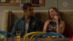 Nate Kinski, Sonya Mitchell in Neighbours Episode 7122
