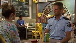 Sonya Mitchell, Mark Brennan in Neighbours Episode 7122