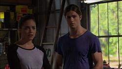 Paige Novak, Tyler Brennan in Neighbours Episode 7122