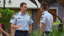 Senior Sergeant Milov Frost, Mark Brennan in Neighbours Episode 7122