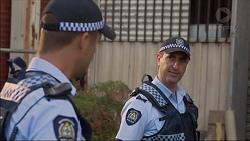 Mark Brennan, Senior Sergeant Milov Frost in Neighbours Episode 7122