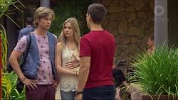 Daniel Robinson, Amber Turner, Josh Willis in Neighbours Episode 7122