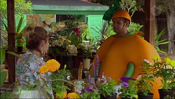 Sonya Mitchell, Nate Kinski in Neighbours Episode 7122