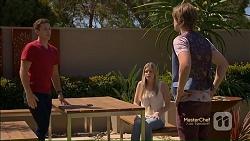 Josh Willis, Amber Turner, Daniel Robinson in Neighbours Episode 7123