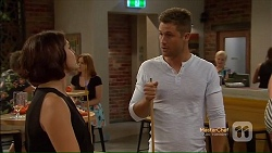 Naomi Canning, Mark Brennan, Sheila Canning in Neighbours Episode 7123