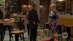 Paul Robinson, Bouncer II, Sheila Canning in Neighbours Episode 7123
