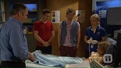 Karl Kennedy, Josh Willis, Daniel Robinson, Georgia Brooks, Amber Turner in Neighbours Episode 7123