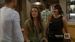 Mark Brennan, Paige Novak, Naomi Canning in Neighbours Episode 7123
