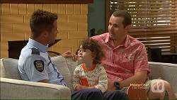 Mark Brennan, Nell Rebecchi, Toadie Rebecchi in Neighbours Episode 7124