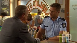 Paul Robinson, Mark Brennan in Neighbours Episode 7124