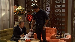 Ezra Hanley, Nate Kinski in Neighbours Episode 7124