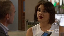 Paul Robinson, Naomi Canning in Neighbours Episode 7124