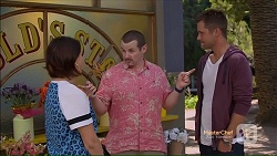 Naomi Canning, Toadie Rebecchi, Mark Brennan in Neighbours Episode 7124