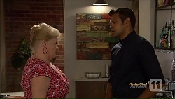 Sheila Canning, Nate Kinski in Neighbours Episode 7124