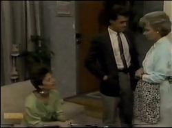 Gail Robinson, Paul Robinson, Helen Daniels in Neighbours Episode 0482