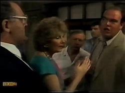 Harold Bishop, Madge Bishop, Rob Lewis, Jeremy Lord, Ivan in Neighbours Episode 0482