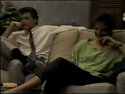 Paul Robinson, Gail Lewis in Neighbours Episode 0482