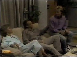 Helen Daniels, Jim Robinson, Scott Robinson in Neighbours Episode 0482