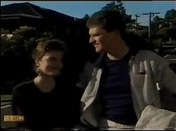 Gail Robinson, Des Clarke in Neighbours Episode 0483